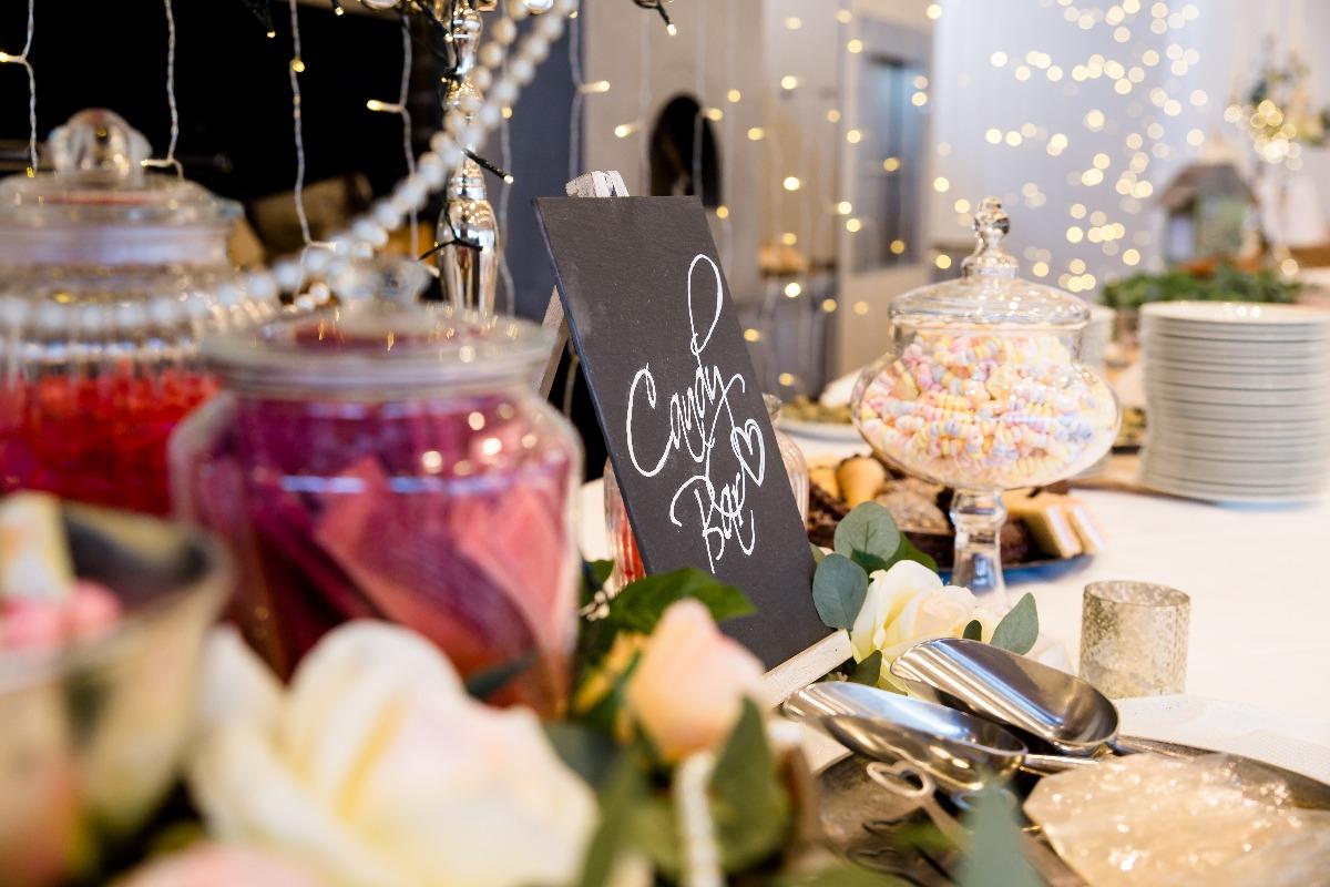 Candy Bar auf der Hochzeitsmesse Rosenheim