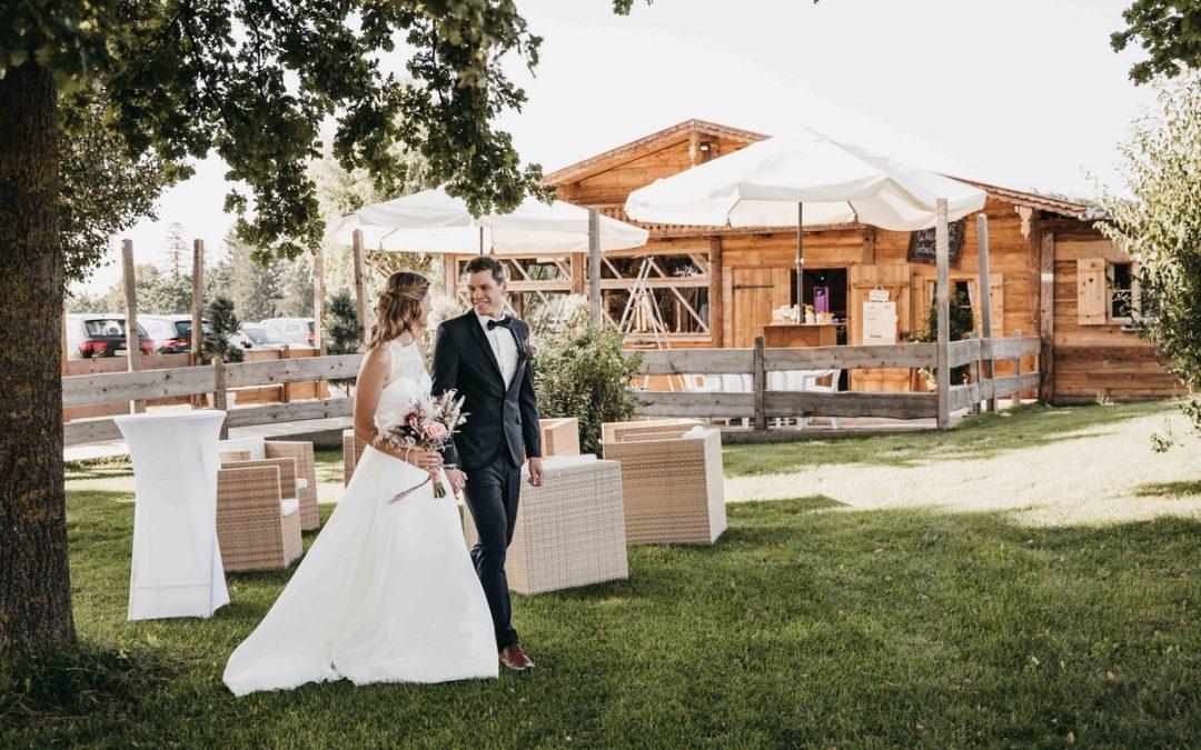 Heiraten in der Hochzeitslocation Draustoana Stadl bei Wasserburg