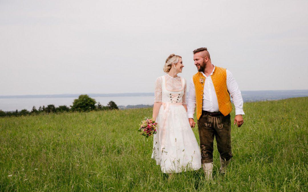 Hüttenzauber – Heiraten auf einer Alm mit Blick auf den Chiemsee