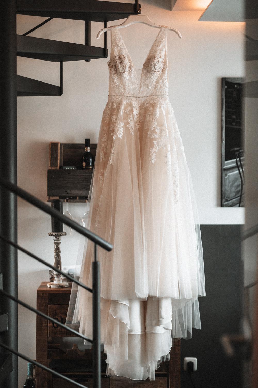 Altrosa Hochzeitskleid Rosenheim