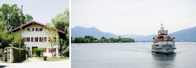 standesamtliche Hochzeit Fraueninsel, Schifffahrt, Chiemsee, Standesamt Fraueninsel
