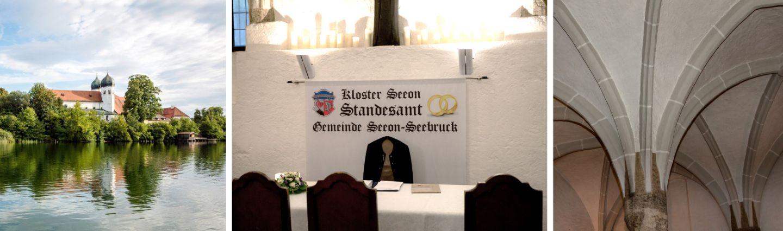 standesamtliche Hochzeit Fraueninsel, Kloster, Seeon, Standesamt Seeon-Seebruck
